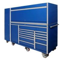 Buy cheap 76 inches 13 drawer large tool trolley cabinet combination from wholesalers