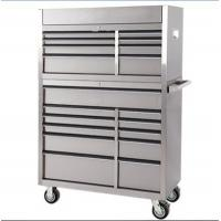 Buy cheap 42inches 8+11 drawer stainless steel toolchest LC4219SS from wholesalers