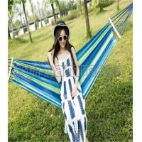 Buy cheap canvas hammock with wooden stick from wholesalers