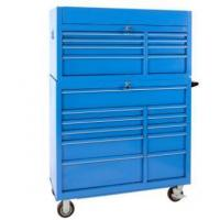 Buy cheap 56inches 8+11 drawer Blue Iron tool chest Powder coating LC5619IBU from wholesalers