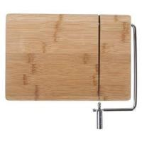 Buy cheap Cheap Bamboo Wooden Cheese Board With Slicer Wire from wholesalers