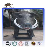 Quality Life-Sized Animatronic Wild Boar For Hot Sale for sale
