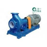 Quality IHF type fluorine plastic centrifugal pump for sale