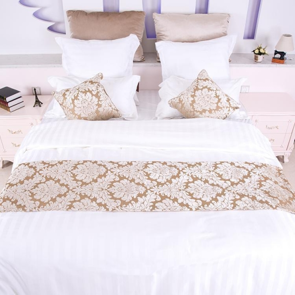 Buy 3cm Strip Fabric Bedding Set at wholesale prices