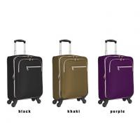Buy cheap Fancy Polyester Suitcase With 360-degree Wheels Trolley Case from wholesalers