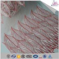 Buy cheap Popular Elegant 100% Organza Voile Embroidery Lace Fabric for Sale from wholesalers