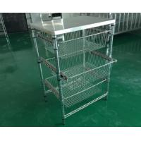 Buy cheap Antistatic wire mesh shelves FJDHJ-1 from wholesalers