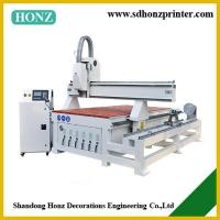 China CNC Router HZR-1325R with Rotary Axis on sale