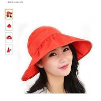Quality Visor Hats Wide Brim Thin Cap UV Protection Summer Sun Hats For Women for sale