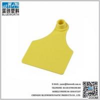 Quality tpu cattle ear tag in yellow or customized for sale