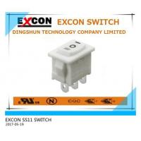 Buy cheap ON-OFF-ON ROCKER SWITCH from wholesalers