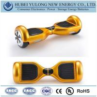 Buy cheap Consumer Electronics Battery Golden 2 wheel electric self balancing scooter from wholesalers