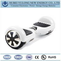 Buy cheap Consumer Electronics Battery White 2 wheel electric self balancing scooter from wholesalers