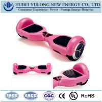 Buy cheap Consumer Electronics Battery Pink 2 wheel electric self balancing scooter from wholesalers
