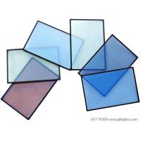 Buy cheap On-line or Off -Line Low-E Grey/blue/green Tempered Glazing Glass for Curtain Wall, Villa and Window from wholesalers