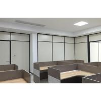 Buy cheap 80 double wooden face partition from wholesalers