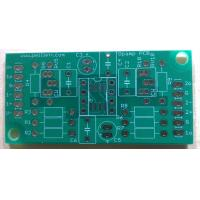 Buy cheap Single layer pcb with green solder mask from wholesalers