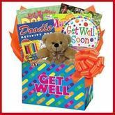 Quality Kids Get Well Gift Box of Things to Do for sale