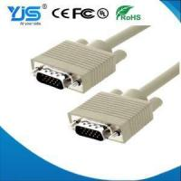 China VGA Cable Molded VGA Cord Black Male to Male with Comb Filter on sale