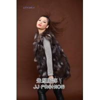 Buy cheap JJ15101 LADY'S LONG VEST IN SILVER FOX FUR from wholesalers