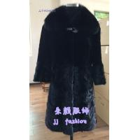 Quality MJ005 LADY'S MINK FUR COAT AW15FAKEFURCOLLECTION for sale