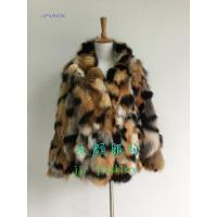 Quality JJ-16051 LADY'S JACKET IN FOX FUR AW15FAKEFURCOLLECTION for sale