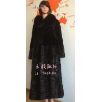 Quality LADY'S MINK FUR LONG COAT AW15FAKEFURCOLLECTION for sale