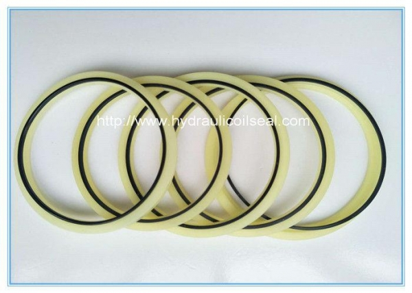 China Durable Rod Buffer Seal Excavator Spare Parts Oil Resistance NBR/ PU Material