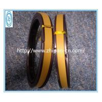 Quality Yellow PTFE Hydraulic Piston Seals 60% Bronze High Temperature Resistance for sale