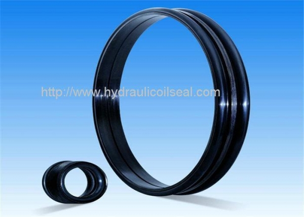 China Black Drift Oil High Pressure Seals , 60-72HRC Hardness Rubber Oil Seal