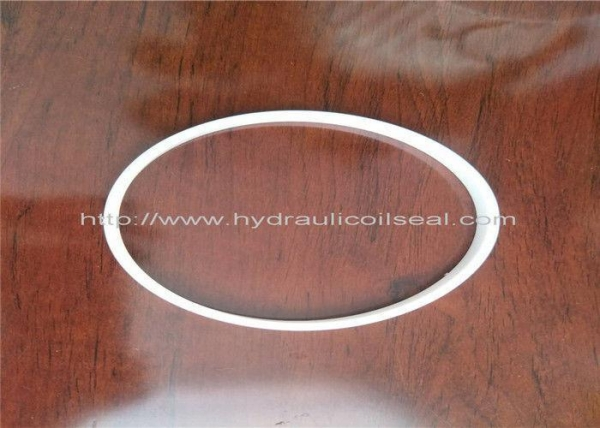 China PTFE Hydraulic Cylinder Seals, Pure White Excavator Air Cylinder Seals