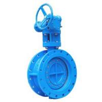 China TH028-Double Flanged Type Eccentric Butterfly Valve on sale
