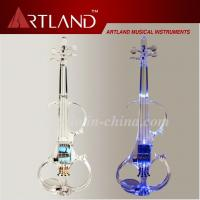 Buy Crystal Transparent Can Light Electric Violin (EVC100) at wholesale prices