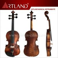Quality Flamed moderate violin outfit (MV140S) for sale