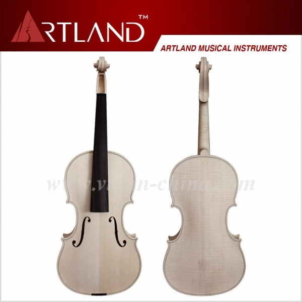 China European Advanced Violin, Unfinished White Violin, Unvarnished Violin (KVE302W)