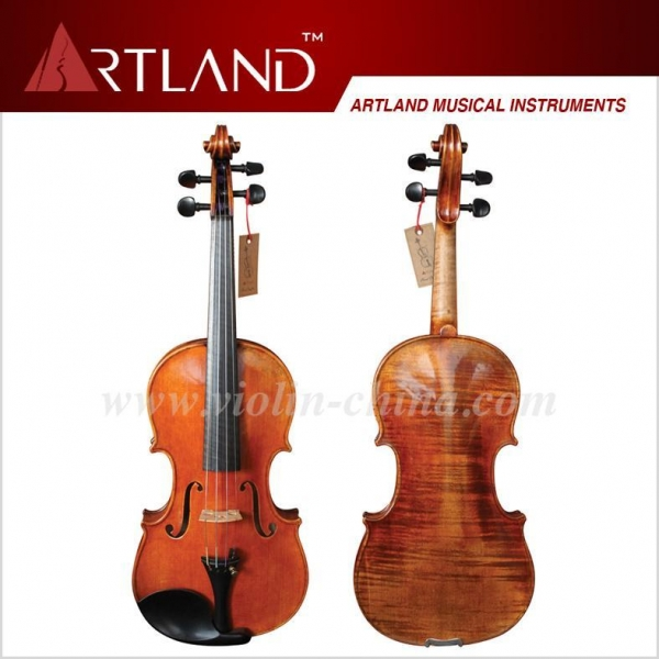 China Professional Stradivari Model Violin Solo Violin High Grade Antique Model Violin(AVP100)