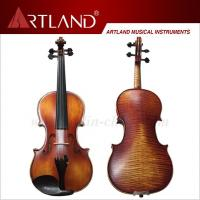 Quality Nice Flamed moderate violin outfit(MV150) for sale