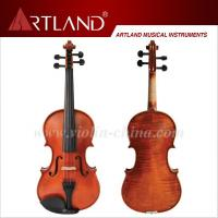 Quality Flamed moderate violin outfit (MV120) for sale