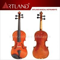 Quality Professional Stradivari Model Violin Solo Violin High Grade Advanced Violin (AV300G) for sale