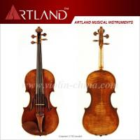 Buy Guarneri 1742 Model Violin Solo Violin High Grade Antique Model Violin at wholesale prices