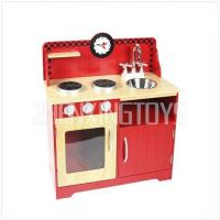 red small play kitchen ProductID: TZ-D1615