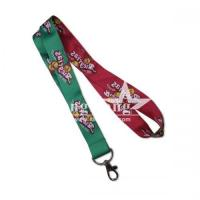 Quality Bookmark Heat Transfer Lanyard for sale