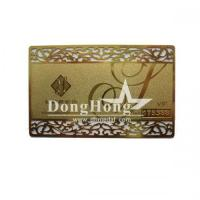 Quality Metal Promotional Gifts Metal Card for sale