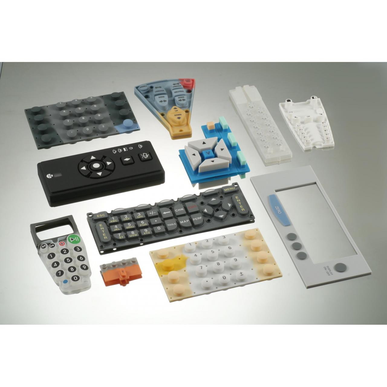 China Silicone Rubber Keypad on sale