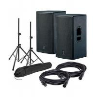 Quality Brass Instrument 1 Review(s) DAS Action 15A Powered Speakers w/ Stands & Cables for sale