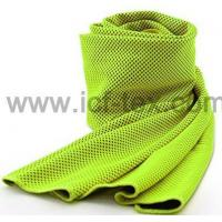 double-side polyester mesh cool towel