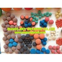 China power plant condenser tube cleaning ball on sale