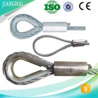 Buy cheap Flemish Soft Eye Steel Wire Rope Thimble Sling product