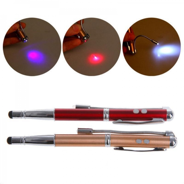 China 4 In 1 Laser Pointer Pen RE617