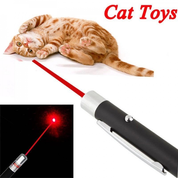 China Pen Shaped Single Red Beam Laser Pointer Pen Funny Pet Stick Childrens Cat Toys